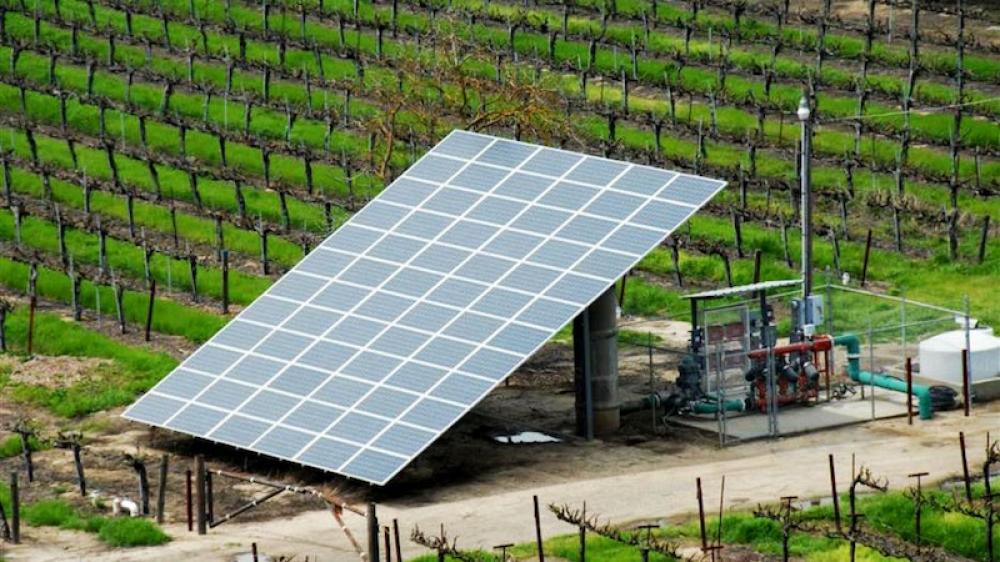 Güneş enerjili sulama sistemlerine hibe desteği