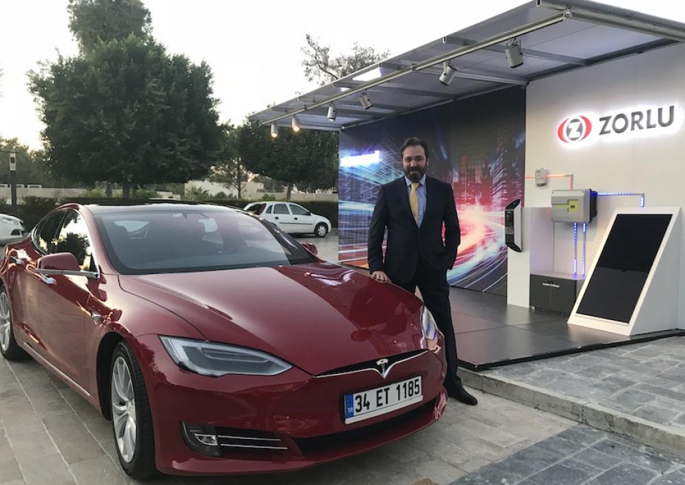 Zorlu Enerji'den elektrikli otomobil paylaşım filosu