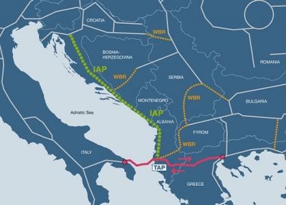 TAP'ın Hırvatistan'dan da geçmesi için Yunanistan devrede