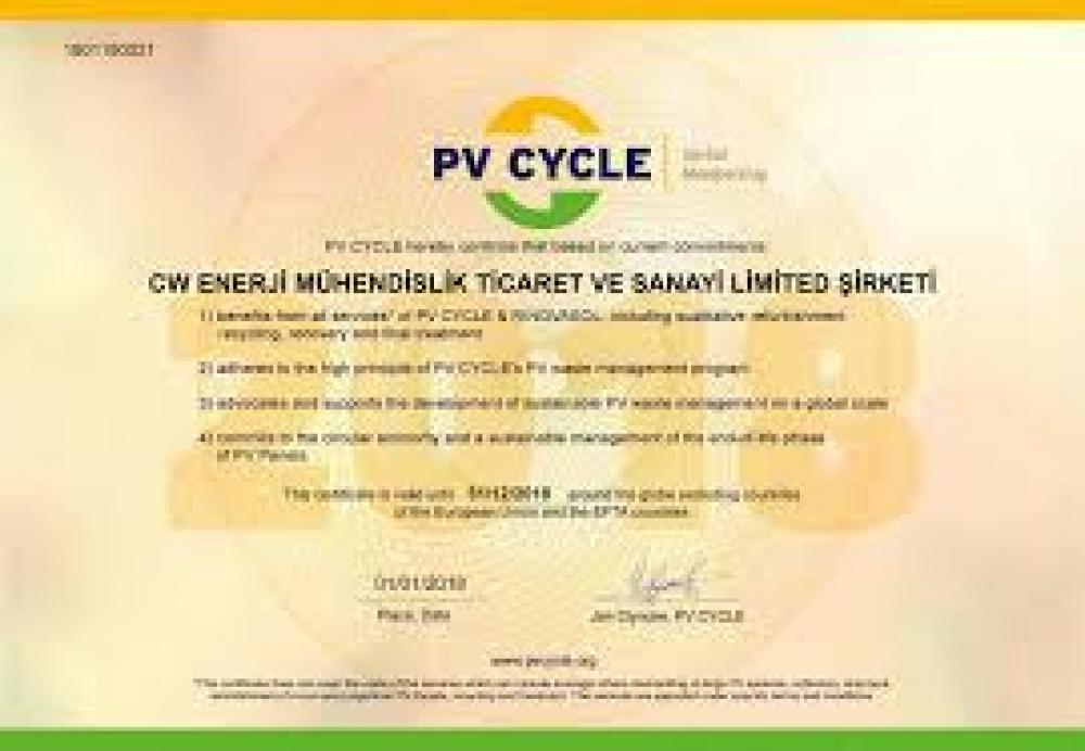 CW Enerji atık güneş panellerini geri dönüştürecek