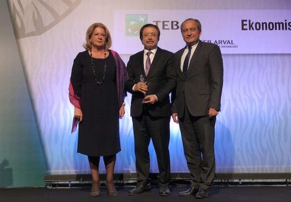 Bereket Enerji ve Yeşilyurt Enerji'ye Ekonomist ödülü