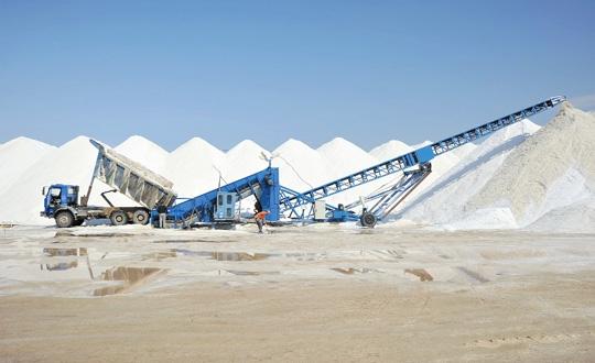 Tuz çıkarmak için enerji tesisi kurulacak