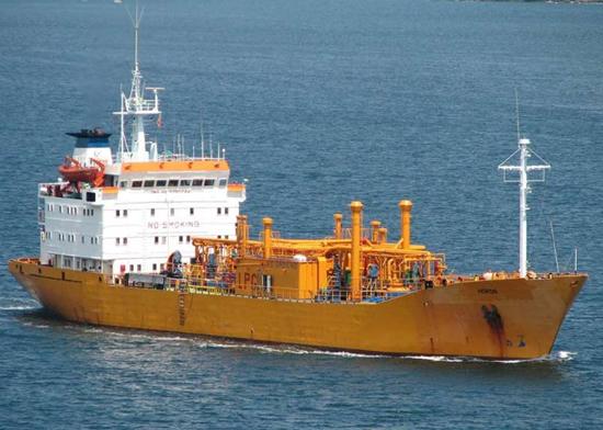 Hacizli LPG gemisi Körfez`de tehlike saçıyor