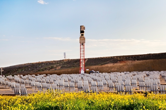 Türkiye'nin ilk kule tipi güneş santrali hazır