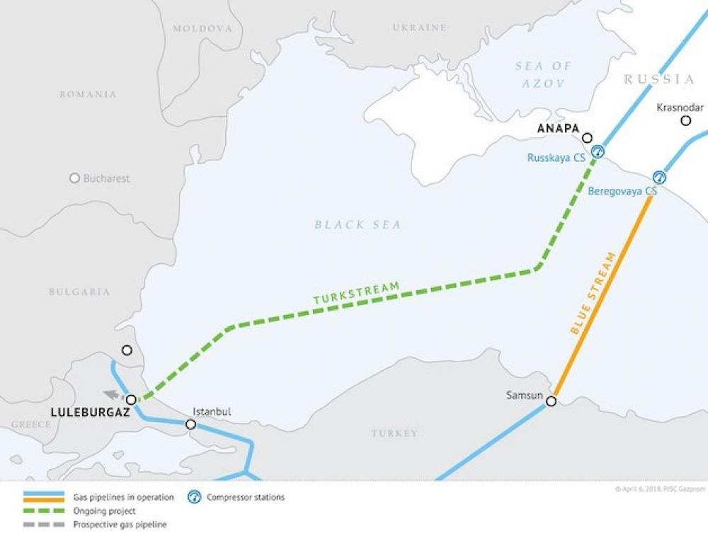TürkAkım kara bölümü ilk kısım için ÇED Olumlu kararı
