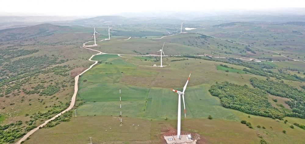 Çorum Belediyesi rüzgardan elektrik üretimine başladı
