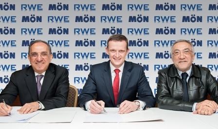 Burçak HES'in ürettiği elektriği RWE satacak