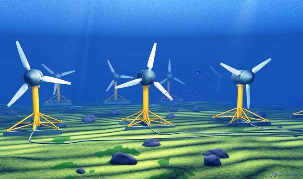Fransa 14 MW'lık gel-git enerji santrali kuracak