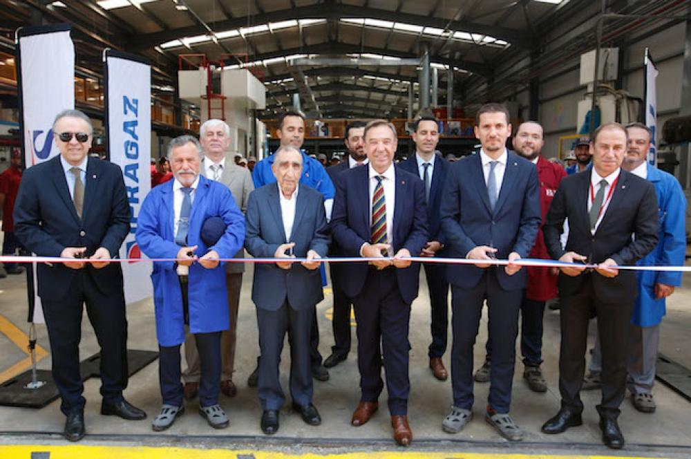 İpragaz EVAS Butik LPG tüp fabrikası açıldı