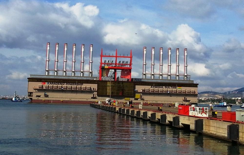 EÜAŞ'ın İstanbul'daki yüzer santrali halkın görüşüne açıldı