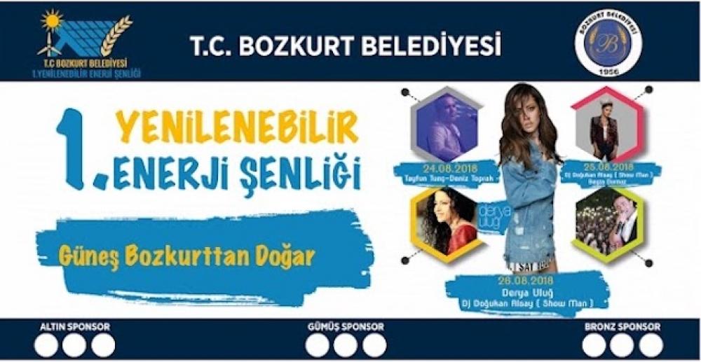 Denizli Bozkurt Belediye'sinden yenilenebilir enerji şenliği!