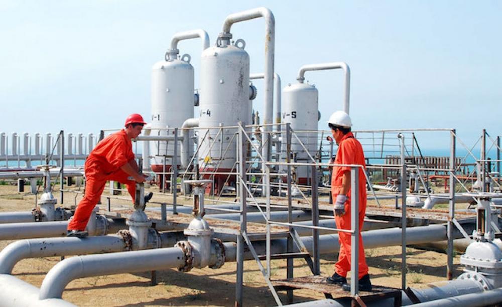 Ukrayna'nın doğalgaz stoğu 14,3 milyar metreküpe ulaştı