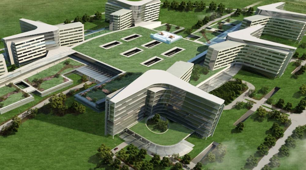 İzmir Bayraklı Sağlık Kampüsü'ne 8.6 MW'lık trijenerasyon tesisi