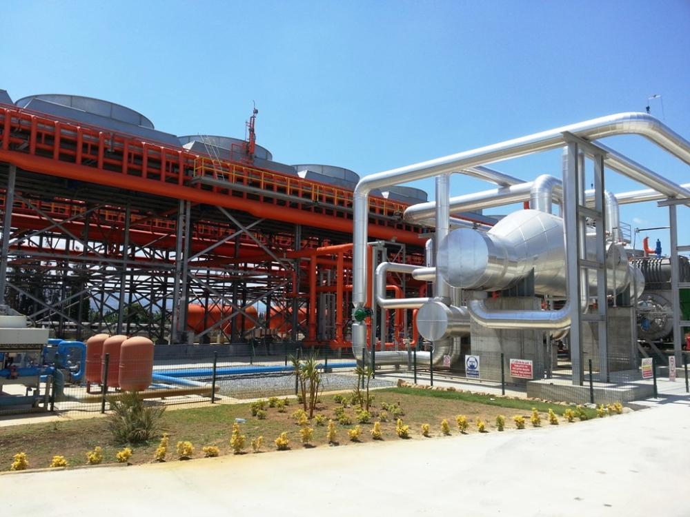 Soyak'ın Alaşehir'deki JES'i elektrik üretmeye başladı