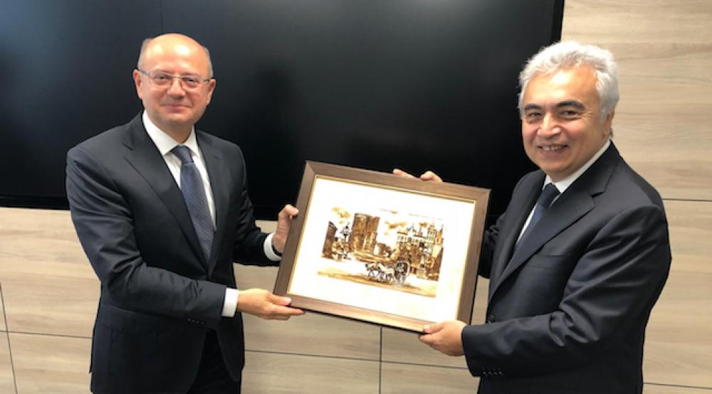 IEA'dan Azerbaycan'a stratejik ziyaret