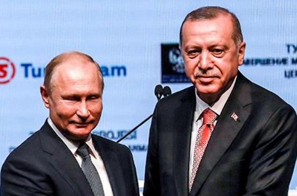 TürkAkım boru hattı Türkiye'de karaya çıktı