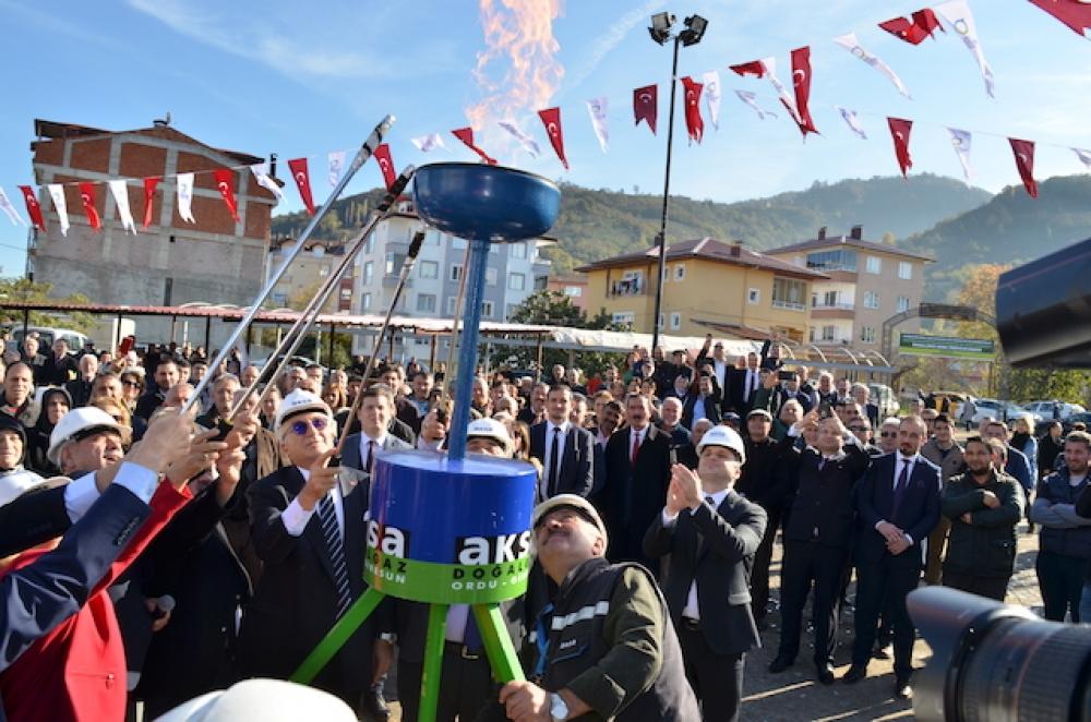 Ordu Altınordu'da doğalgazsız mahalle kalmadı