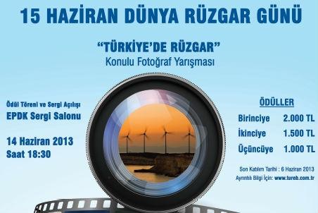 TÜREB'ten rüzgar temalı fotoğraf yarışması!