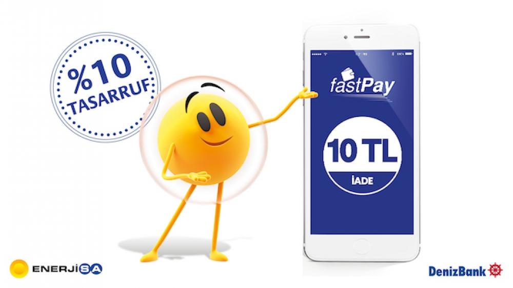 Enerjisa fastpay işbirliğiyle faturalarda %10 tasarruf imkanı