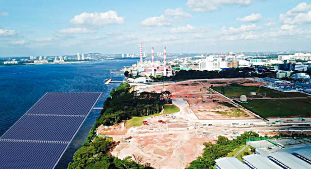 Singapur'da 5 MW'lık yüzer GES kurulacak