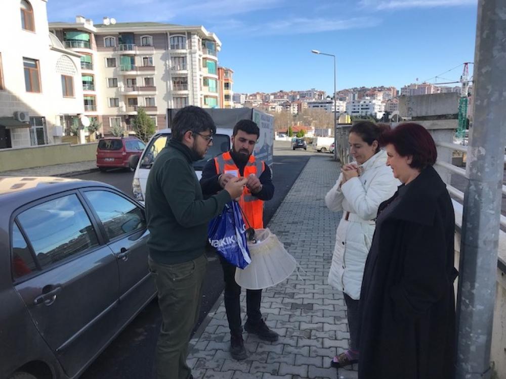 Tekirdağ'da vatandaşın çöpleri paraya dönüşüyor