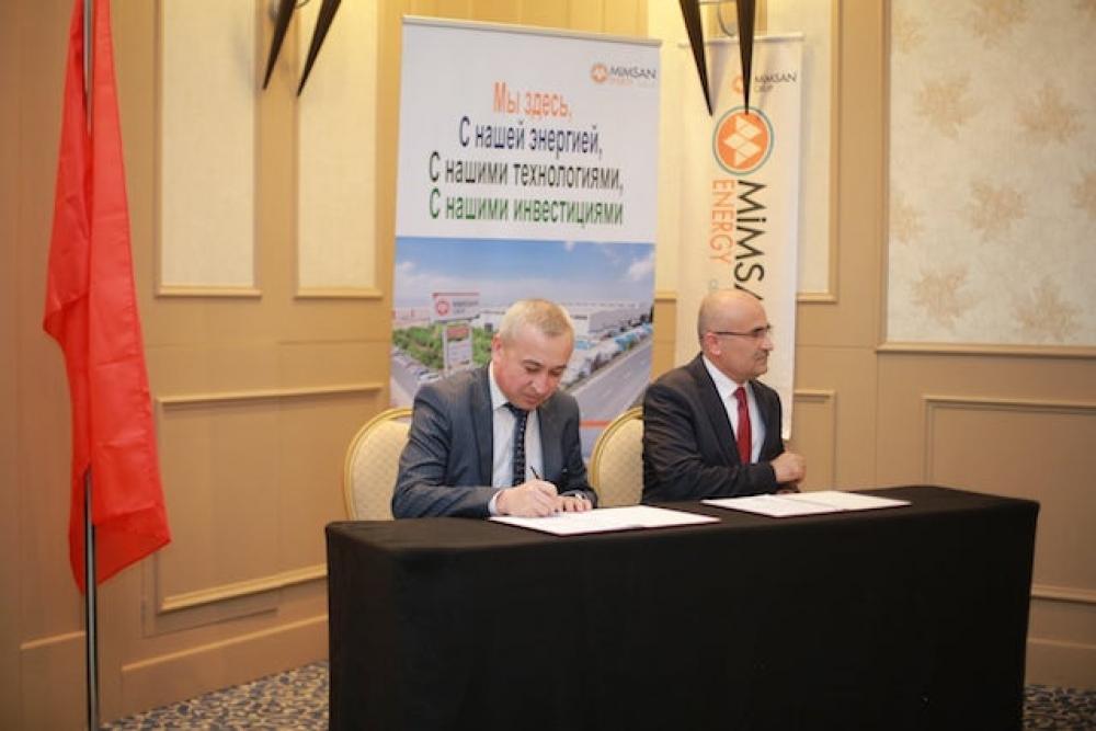 Özbek şehirleri Mimsan teknolojisiyle ısınacak