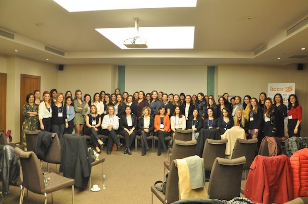 Enerji sektöründeki kadınlar 8 Mart'ta toplandı