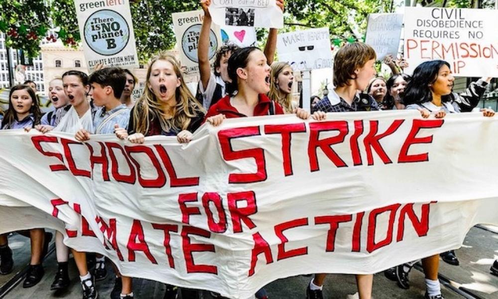 İklim için okul boykotları Türkiye'ye de uzanıyor