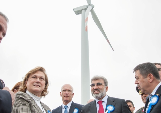 EnerjiSA Türkiye`nin en büyük RES`ini açtı