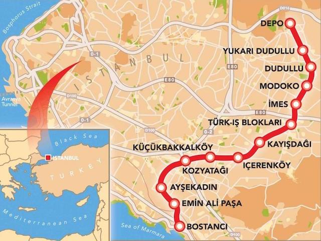 Dudullu-Bostancı metrosunu Orge elektriklendirecek
