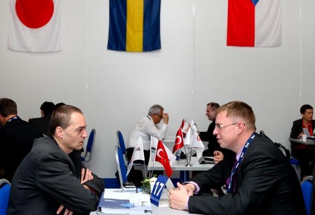 ICCI 2013`de Türk şirketleri yabancılarla 155 görüşme yaptı