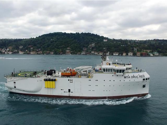 MTA Oruç Reis gemisi işbaşı eğitim hizmeti alacak