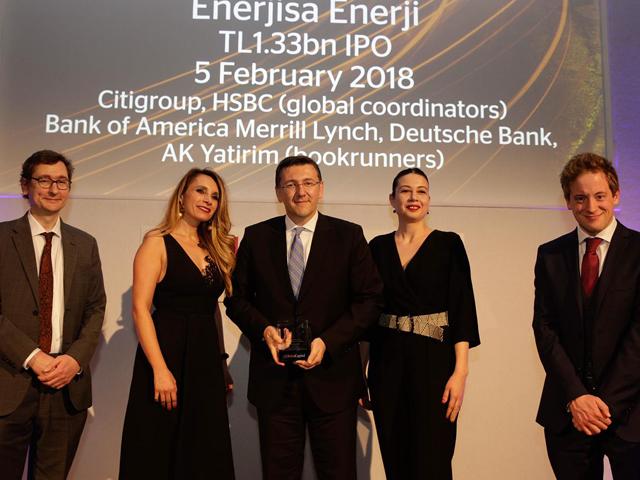 Enerjisa Enerji'ye Londra'dan büyük ödül