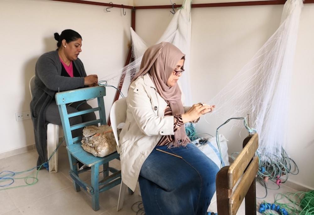 Erdemli kadın balık ağı reislerini yetiştiriyor