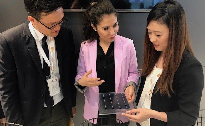 Türkiye'nin ilk yerli güneş hücresi yatırımcılarla buluştu