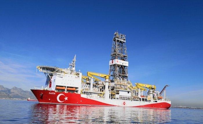 Fatih gemisi Kıbrıs'ın batısında bir kuyu açtı