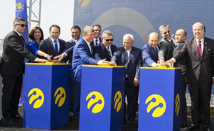 Turkcell'in KKTC GES'i açıldı