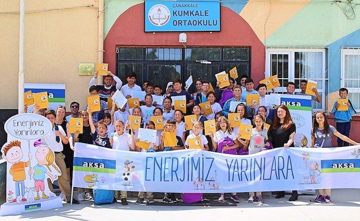 Aksa'dan 2 bin çocuğa enerji eğitimi