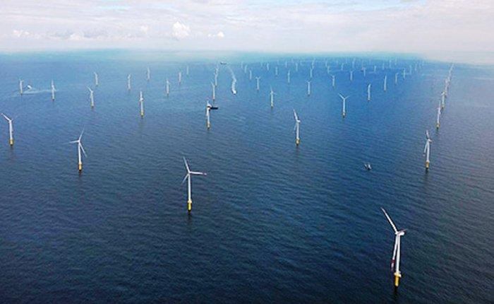 İskoçya'nın en büyük denizüstü rüzgar santrali açıldı