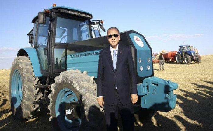 Elektrikli traktör pilleri kiralanabilecek