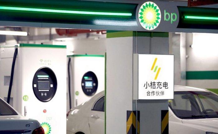 BP, Çin ortaklığıyla elektrikli araç şarj istasyonları kuracak