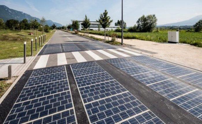 Fransa'da güneş enerjili yol beklentileri karşılamadı