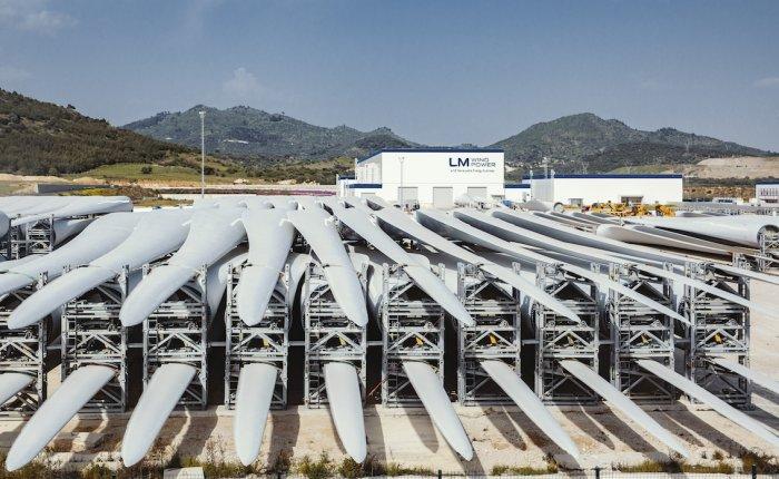 GE LM Wind Bergama'da 500'üncü türbin kanadını üretti