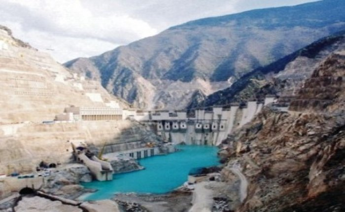 Deriner HES'te elektrik üretimi 11 milyar KW'yi geçti