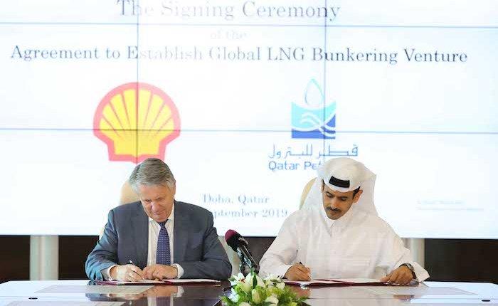 Shell ve Katar Petroleum denizlerde LNG kullanımını arttıracak
