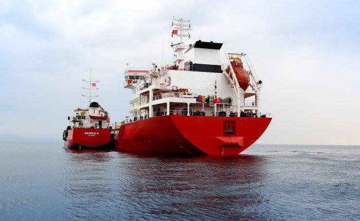 Türkiye'nin ilk VLSF ikmalini Petrol Ofisi yaptı