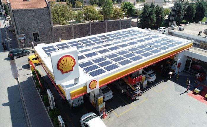 Shell & Turcas güneş enerjili istasyon sayısını 3'e çıkardı