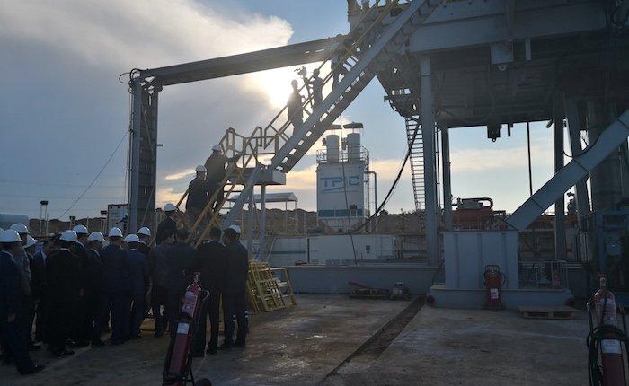 Ağustos'ta en fazla doğalgaz Tekirdağ'da üretildi