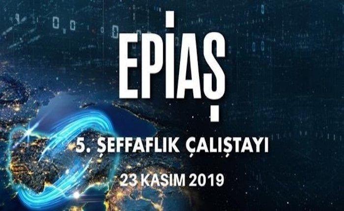 EPİAŞ 5. Şeffaflık Çalıştayı düzenlenecek