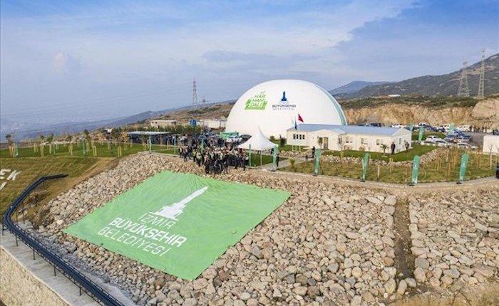 İzmir'de 15 MW'lık Harmandalı Biyogaz Tesisi açıldı